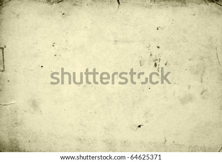 Empty grunge old paper - stock photo