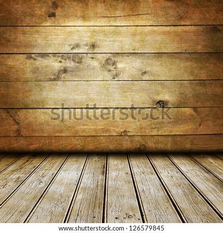 Empty interior for Your photo montage - stock photo