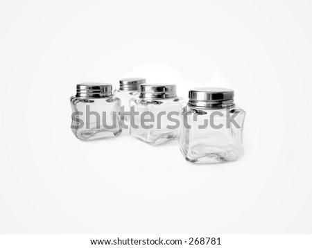 empty little glass jars stock photo royalty free 268781 shutterstock