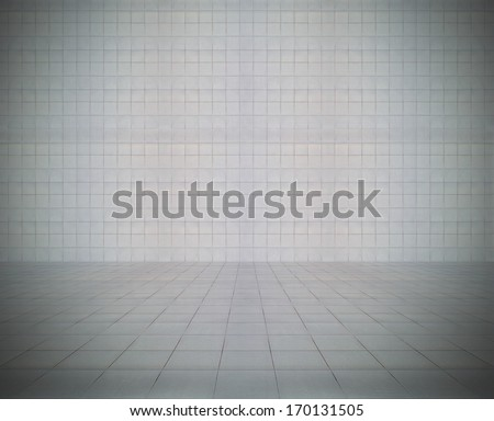 empty modern interior, background - stock photo