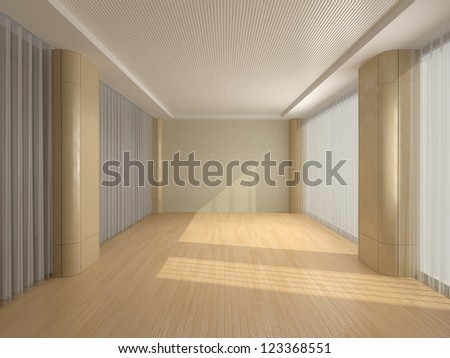 Empty office - stock photo