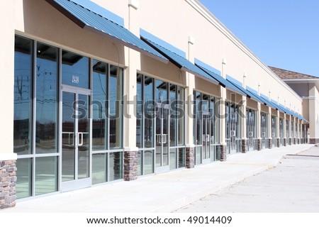 Empty office building - stock photo