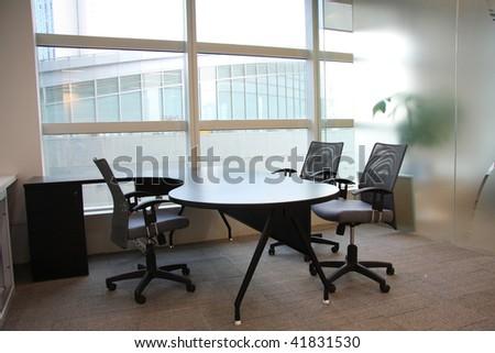 empty office room - stock photo