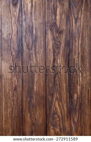 empty old brown wooden texrured background - stock photo