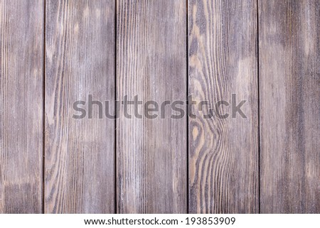 Empty old shabby gray painted wooden background for design - stock photo