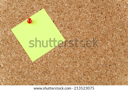 Empty Paper Note