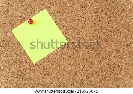 Empty Paper Note - stock photo