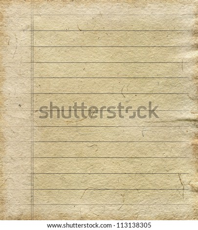 Empty paper sheet - stock photo