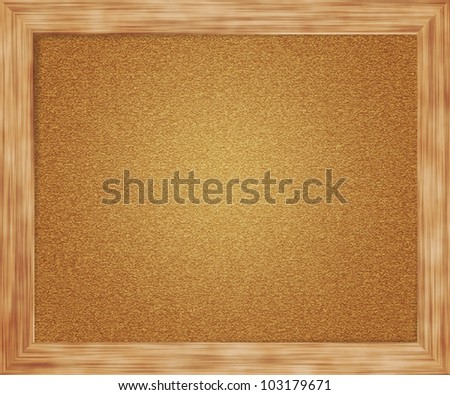 Empty Pin Board Background - stock photo