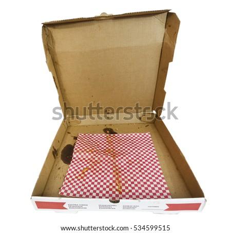 Greasy Pizza Box Stock Photos, Royalty-Free Images & Vectors ...