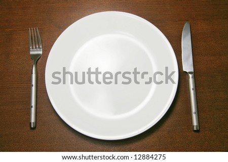 Empty Place Setting