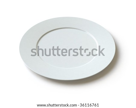 empty plate. . In my portfolio there is collection of pictures of tablewares. You only enter IN a SEARCH the Photographer Name: PAVEL IGNATOV and keyword: TABLEWARE - stock photo