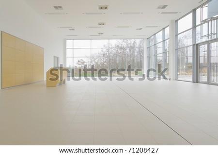 empty room - stock photo