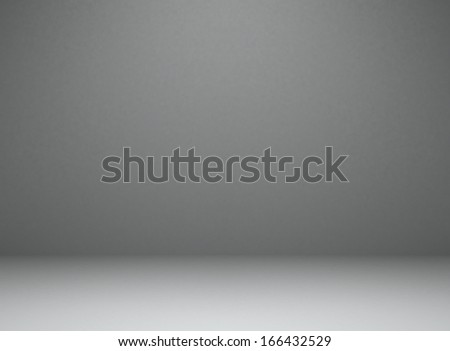Empty room. Background. 3d illustration - stock photo
