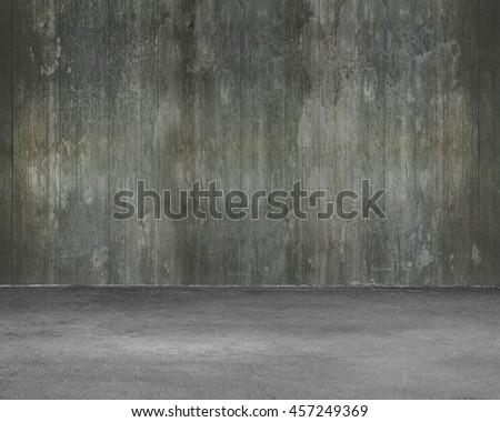 Dark Concrete Floor Texture dark concrete room wall floor stock illustration 112152128