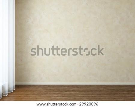 Empty room - more variations in my portfolio - stock photo