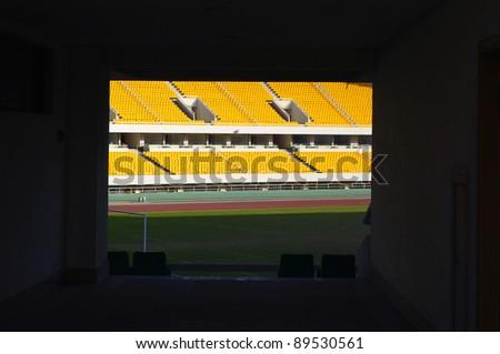 Empty seats - stock photo