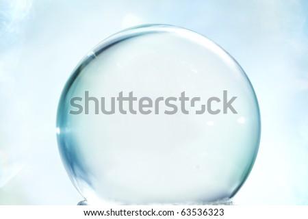 Empty snow globe - stock photo