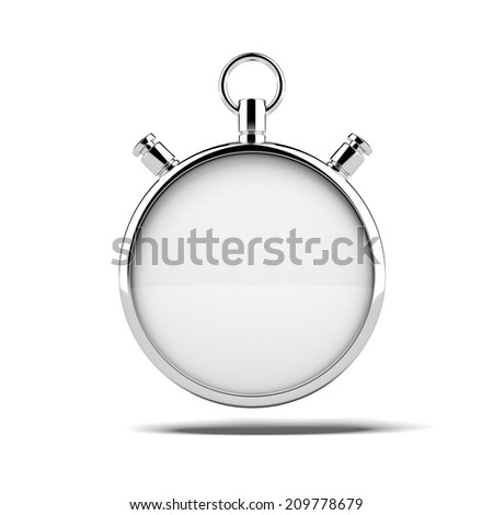 Empty stopwatch - stock photo