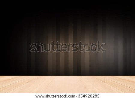 Empty Stripes Brown with Black vignette Studio backdrop well use as background.