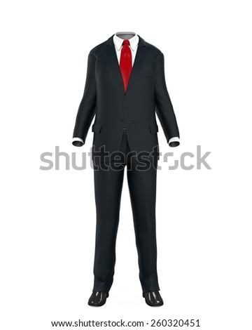 Empty Suit Figure