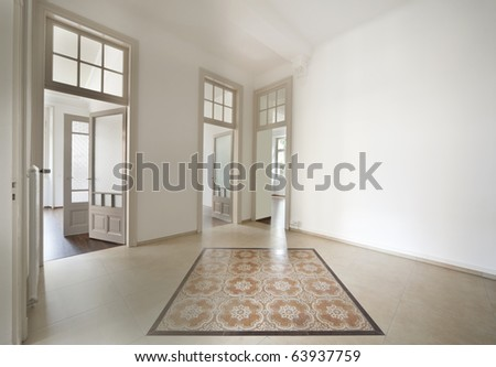 empty traditional home - stock photo