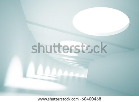 Empty Tunnel - stock photo