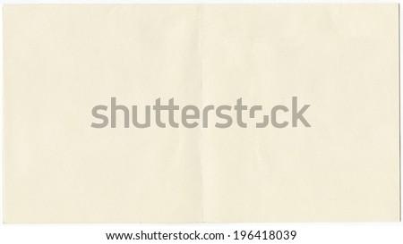 empty vintage card paper - stock photo