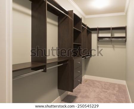 Empty Walk In Closet