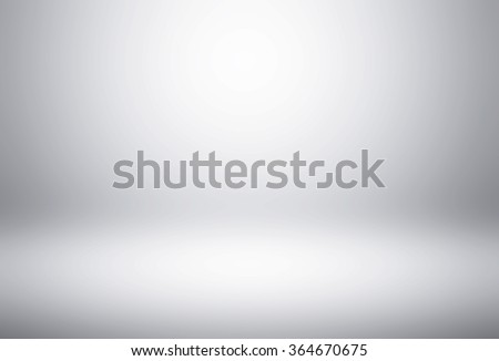 Empty white gradient Studio wall abstract background - stock photo