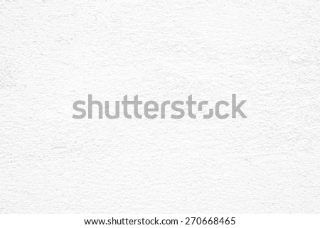 Empty white vintage grungy cement wall background texture, retro pattern banner - stock photo