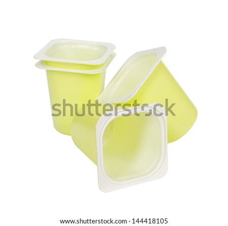 Yogurt Container Stock Photos, Yogurt Container Stock ...