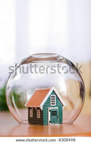 Enclosed House - stock photo
