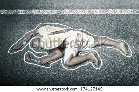 End of Love - stock photo