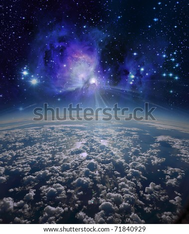 End of the world - stock photo