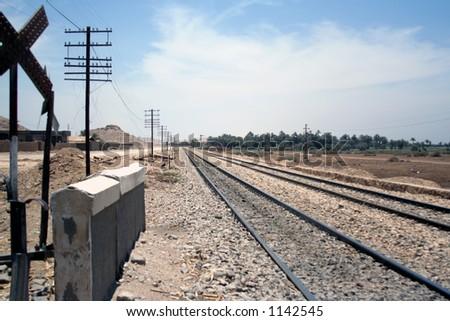 Endless Journey - stock photo