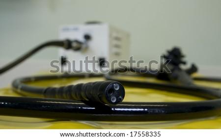 endoscope - stock photo