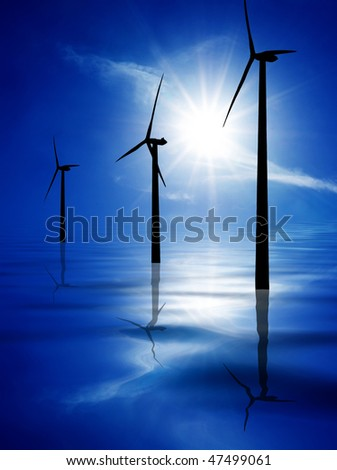 Energy - stock photo
