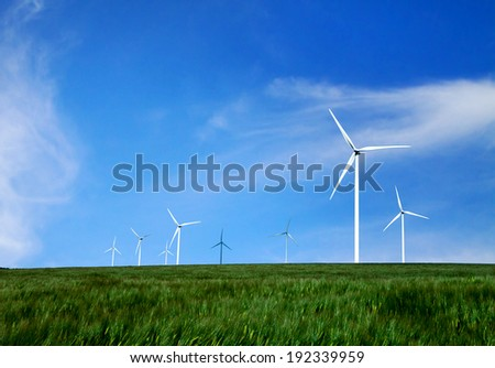energy and nature - stock photo