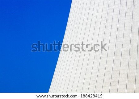 ENERGY BACKGROUND - NUCLEAR REACTOR DETAIL - stock photo