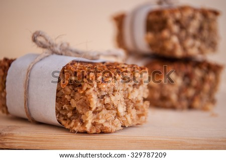 Energy bars - stock photo