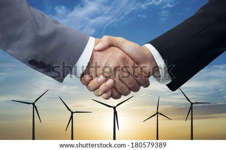Energy Business - stock photo