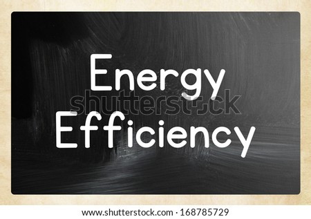 energy efficiency concept - stock photo