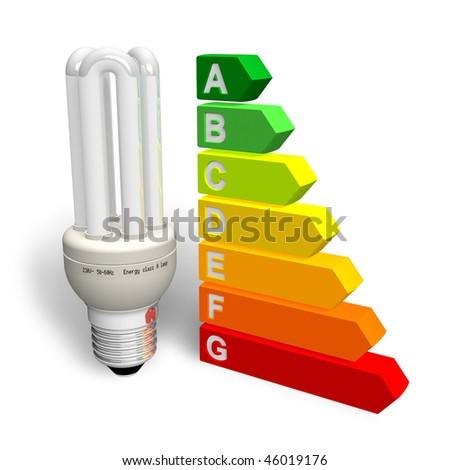 Energy efficiency concept - stock photo