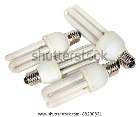 energy-efficient lamp - stock photo