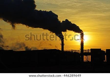 Energy - global warming - stock photo