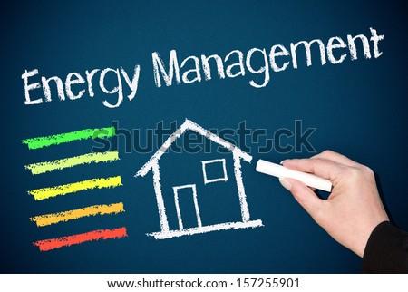 Energy Management - stock photo