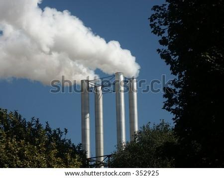 Energy production - stock photo