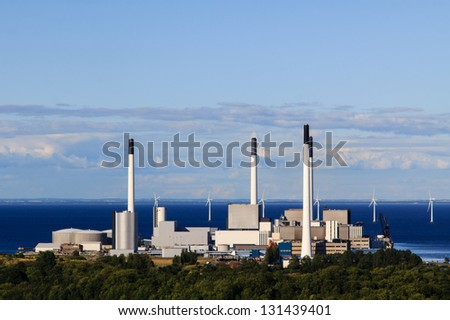 Energy production at the coast of Copenhagen