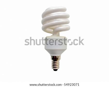Energy saving lamp - stock photo